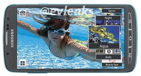 galaxy s4 active water