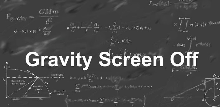gravity screen off