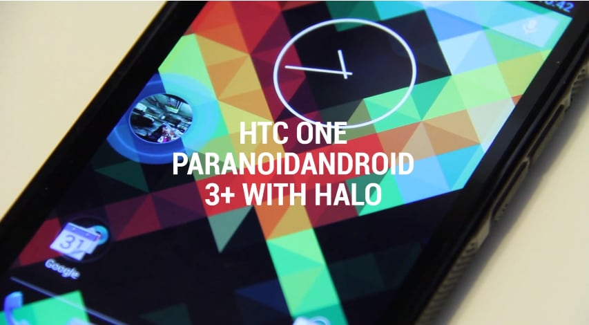 htc one paranoid android