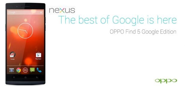 oppo find 5 google edition