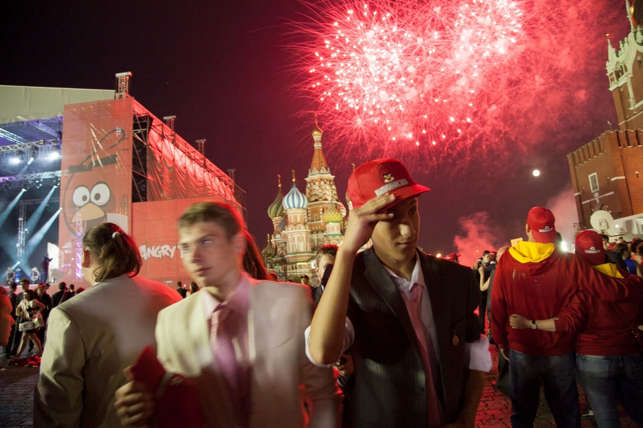 red square - 3