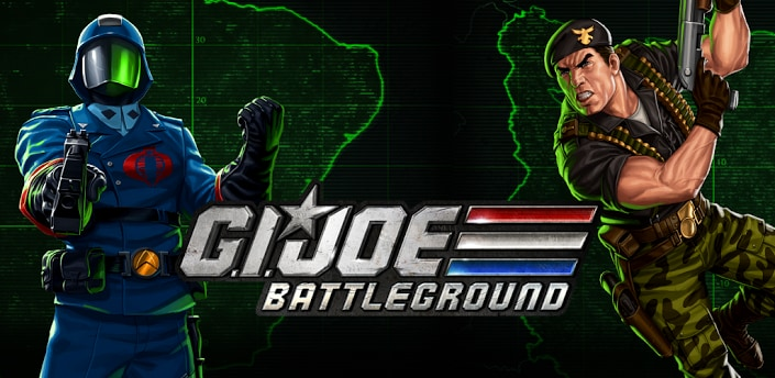 G.I. JOE BATTLEGROUND header