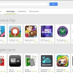 Interfaccia Play Store 4