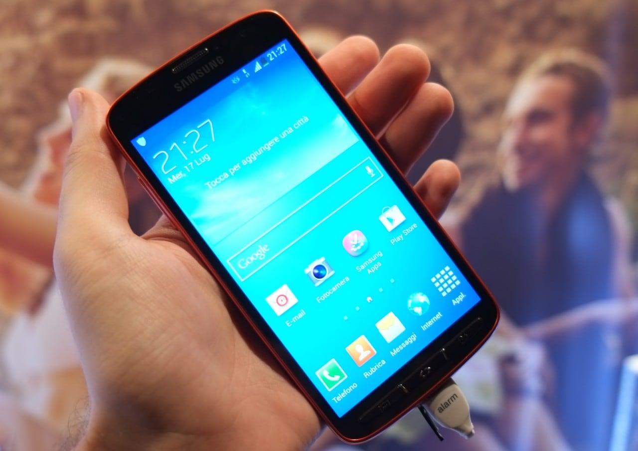 Samsung Galaxy S4 Active si aggiorna a KitKat