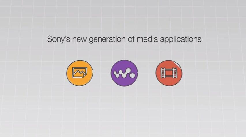Sony media apps