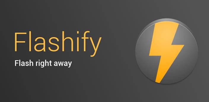 Flash e backup direttamente da Android sempre più facili, con l'ultima versione di Flashify