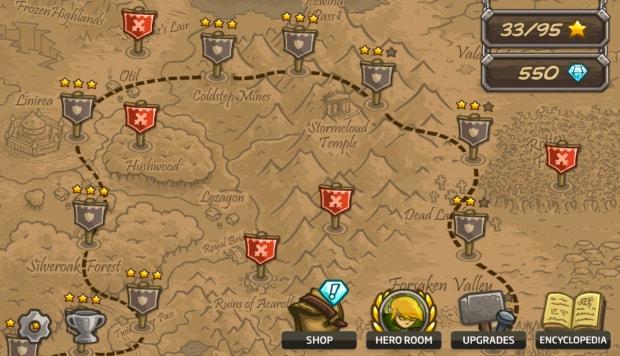 Ogni mappa garantisce un livello di difficoltà  perfettamente bilanciato.
