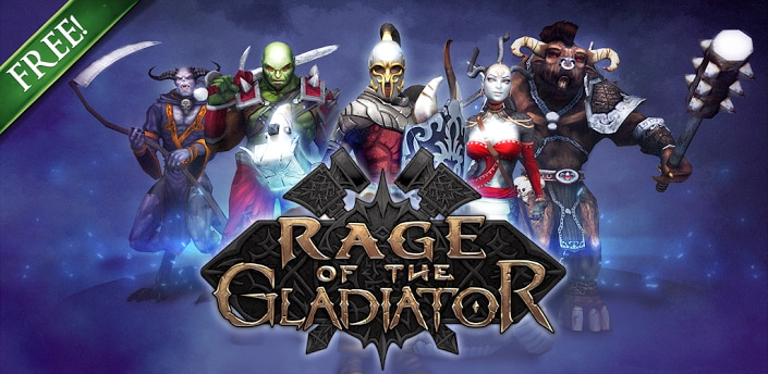 rage of the gladiator title
