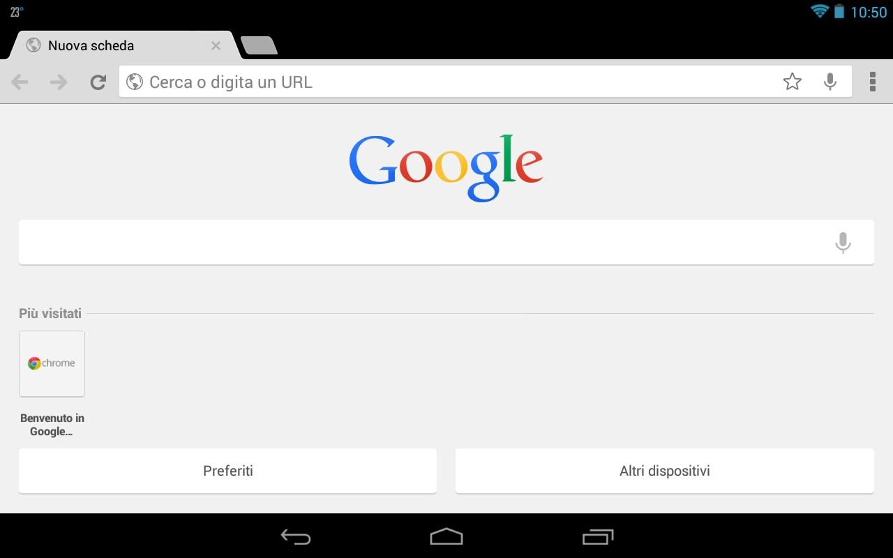 Home Chrome Beta