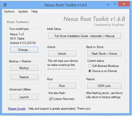 Nexus-Root-Toolkit