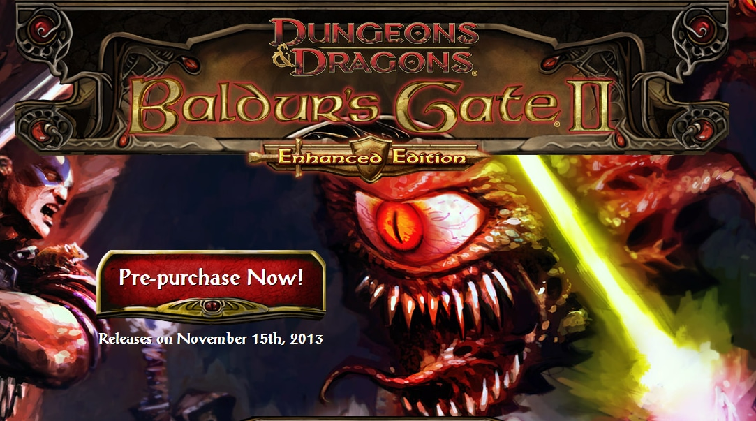 baldur's gate 2 enhanced edition header