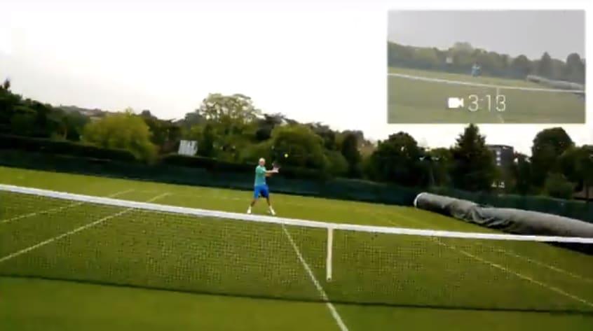 glass tennis