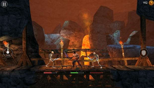 Alcuni combattimenti saranno contro più mostri, ma vi attaccheranno uno alla volta, come in Assassin's Creed.