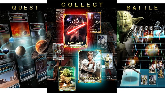 star wars force collection header