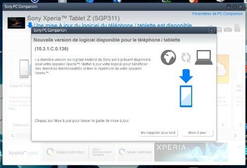 tablet z update