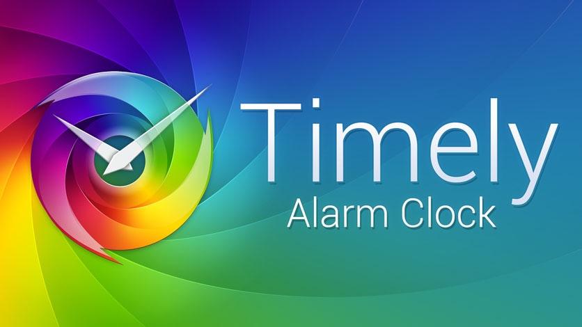 Come impostare una sveglia / cronometro / timer (Timely)