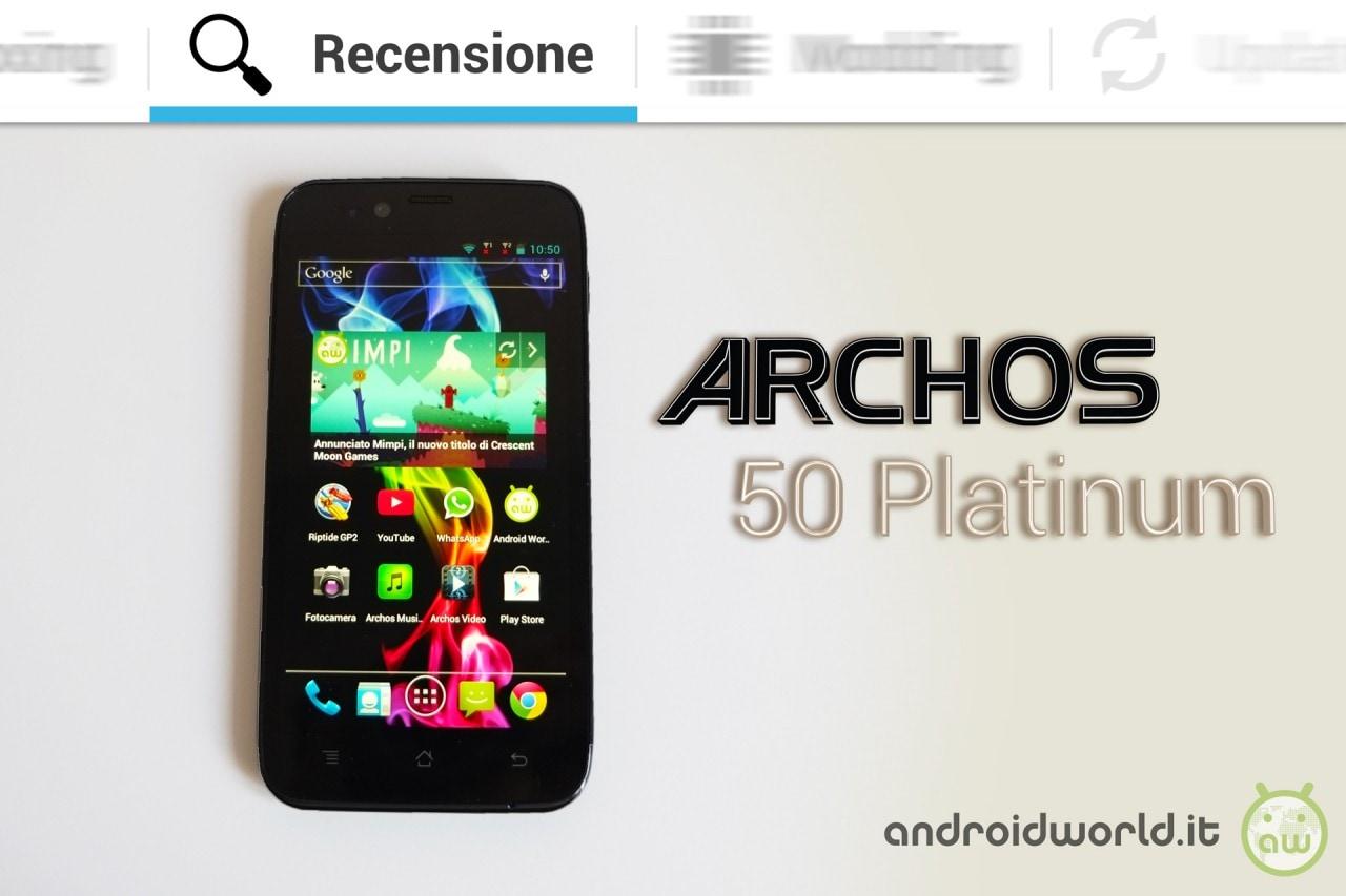 Archos 50 Platinum
