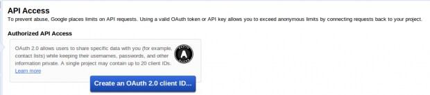 Create OAuth