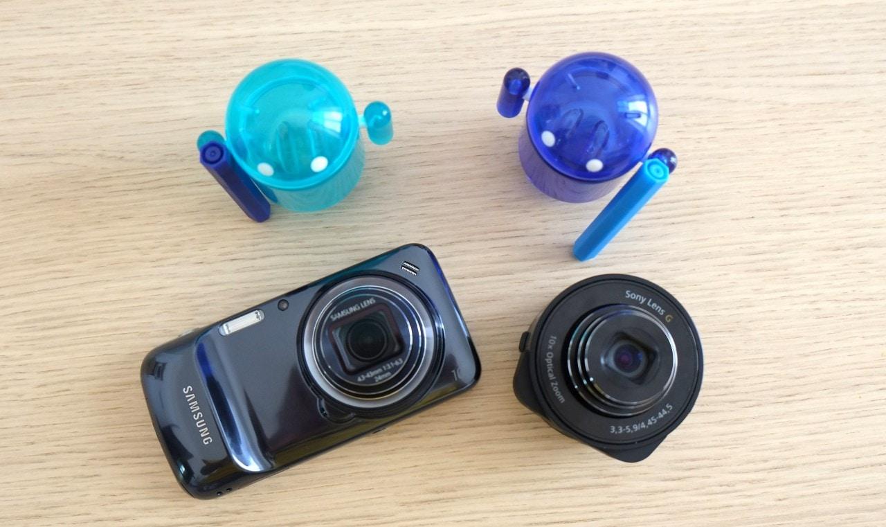 S4 Zoom vs QX10