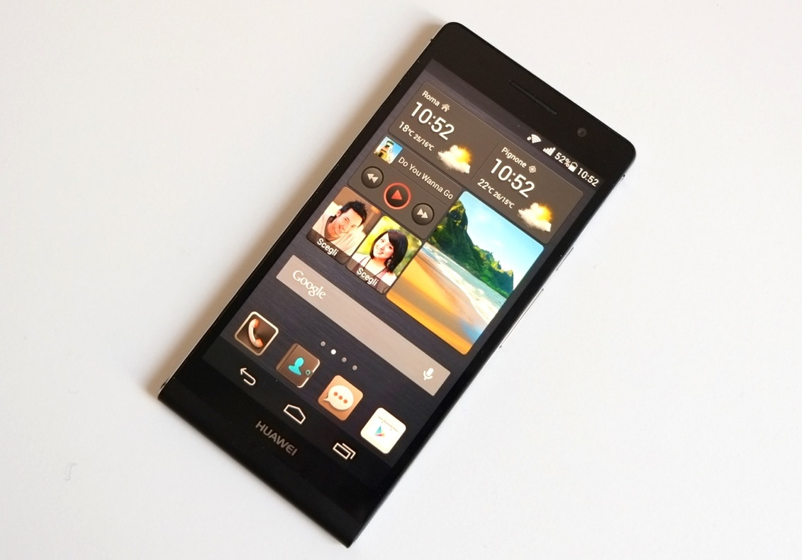 Huawei Ascend P6 si aggiorna a KitKat