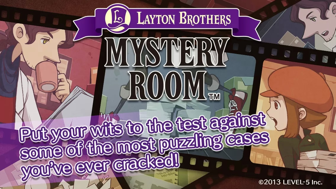 LAYTON BROTHERS MYSTERY ROOM header