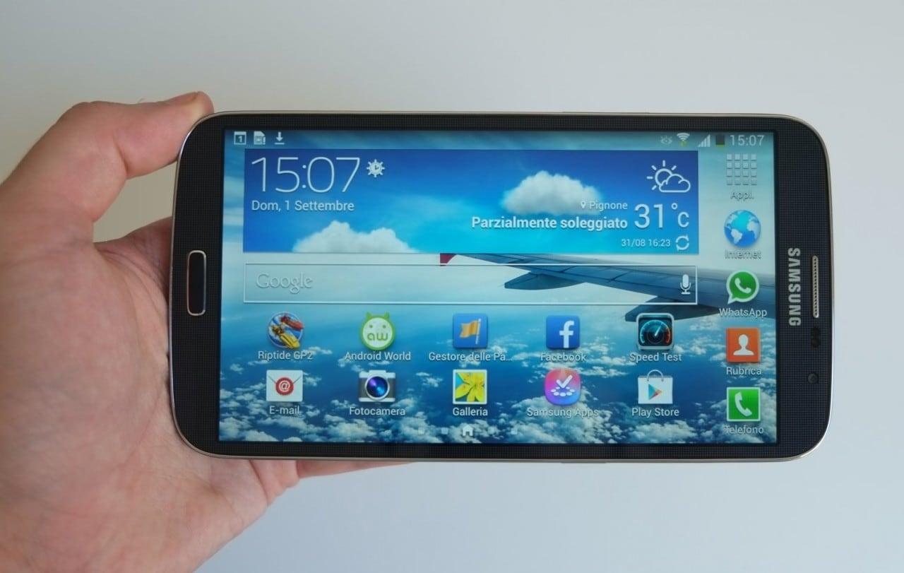 Samsung Galaxy Mega 6.3 (GT-I9200) si aggiorna ad Android 4.4.2 KitKat (download)