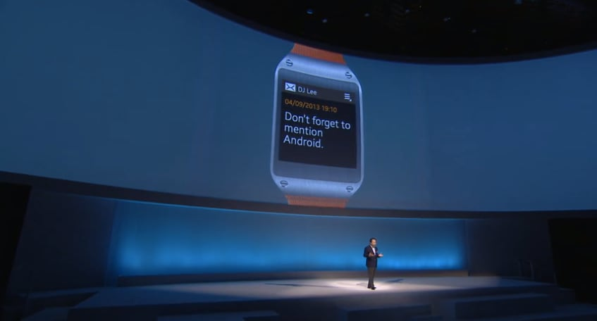 galaxy gear android
