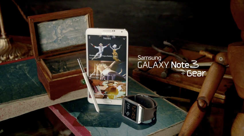 samsung galaxy note 3 gear