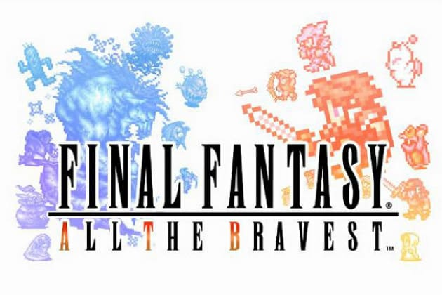 final fantasy all the bravest header