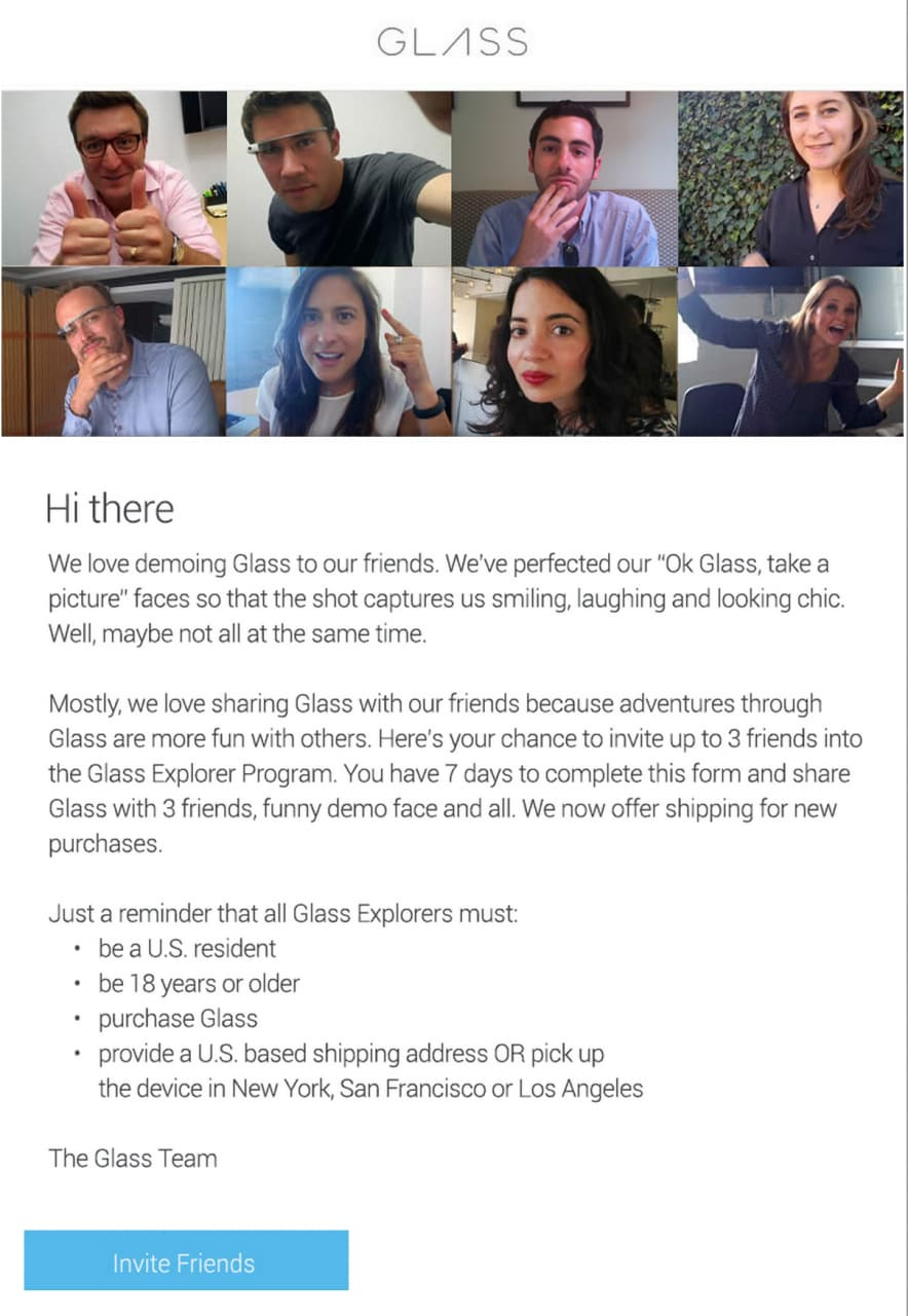 glass explorer invito