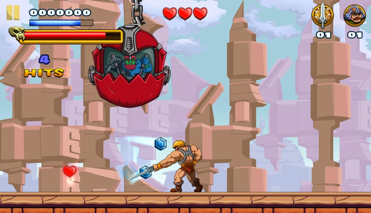 Nel gioco sono presenti i nemici principali dei dominatori dell'universo.