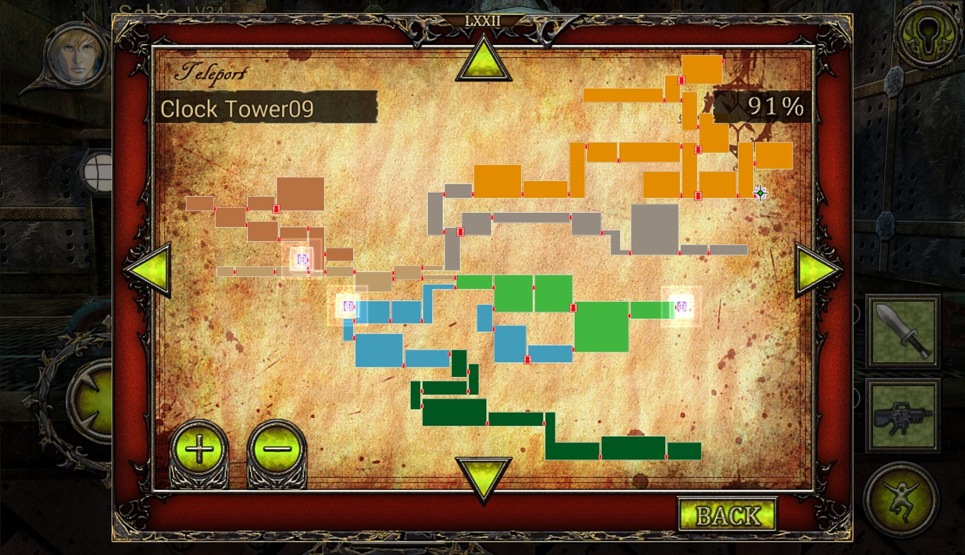 La mappa è probabilmente l'elemento più importante del gioco.