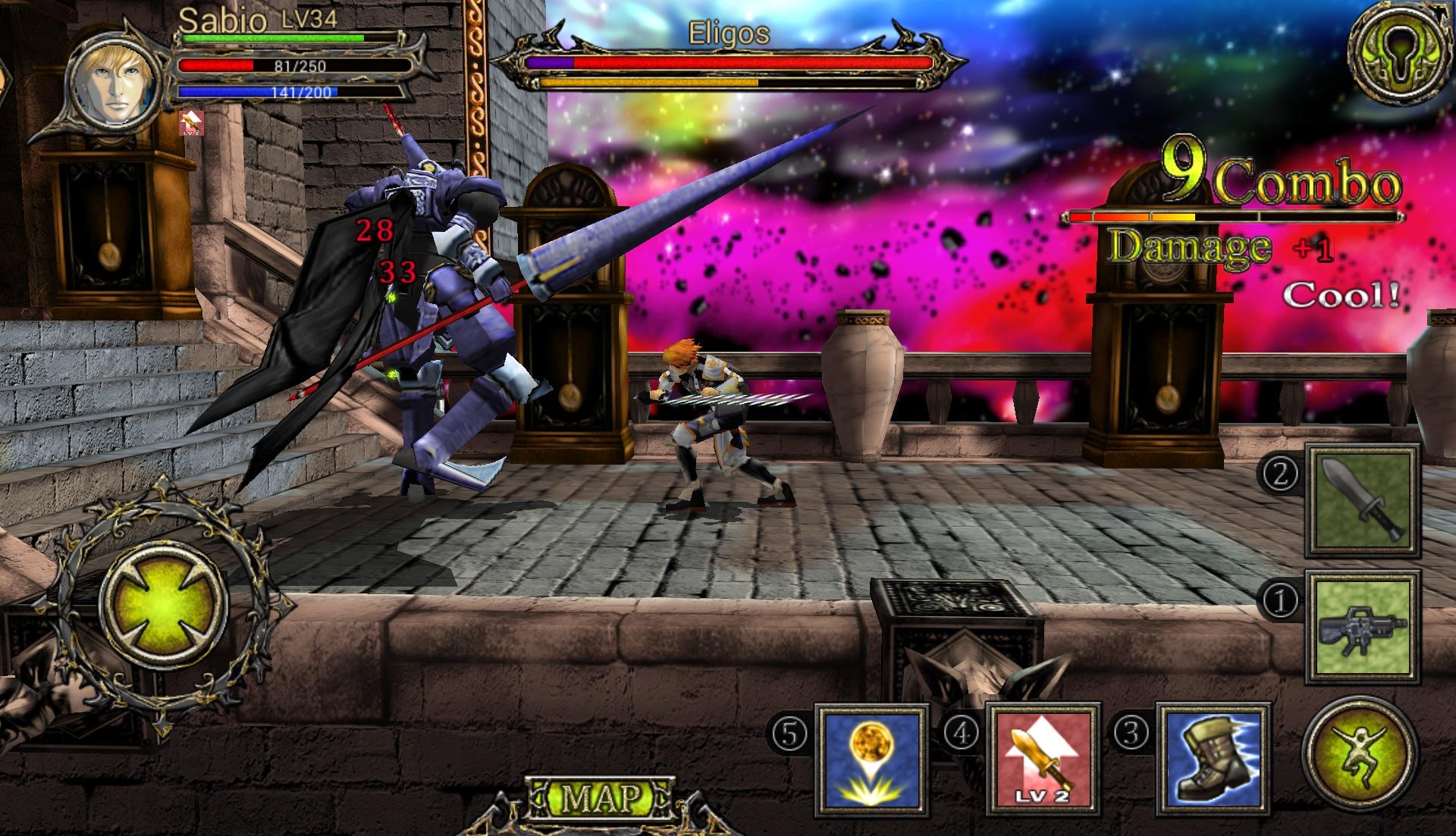 Il gioco predilige le armi a distanza piuttosto che quelle ravvicinate.