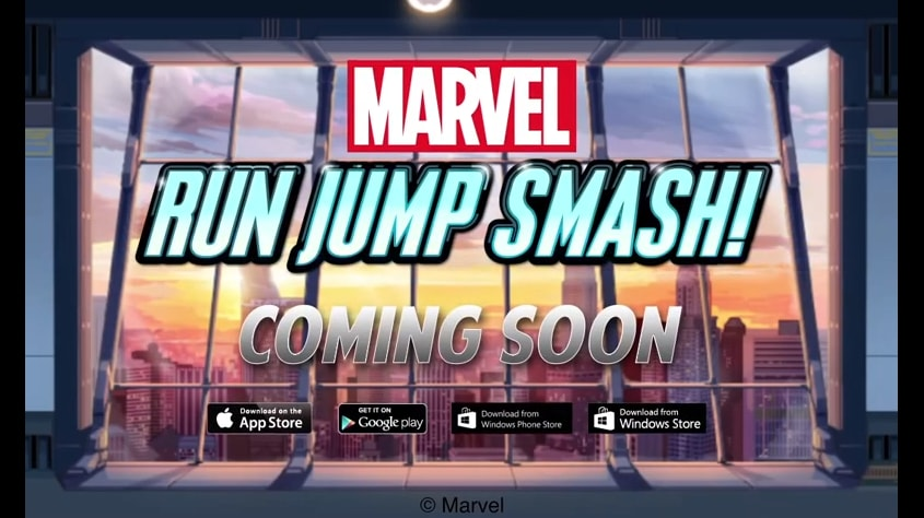 Marvel Run Jump Smash header