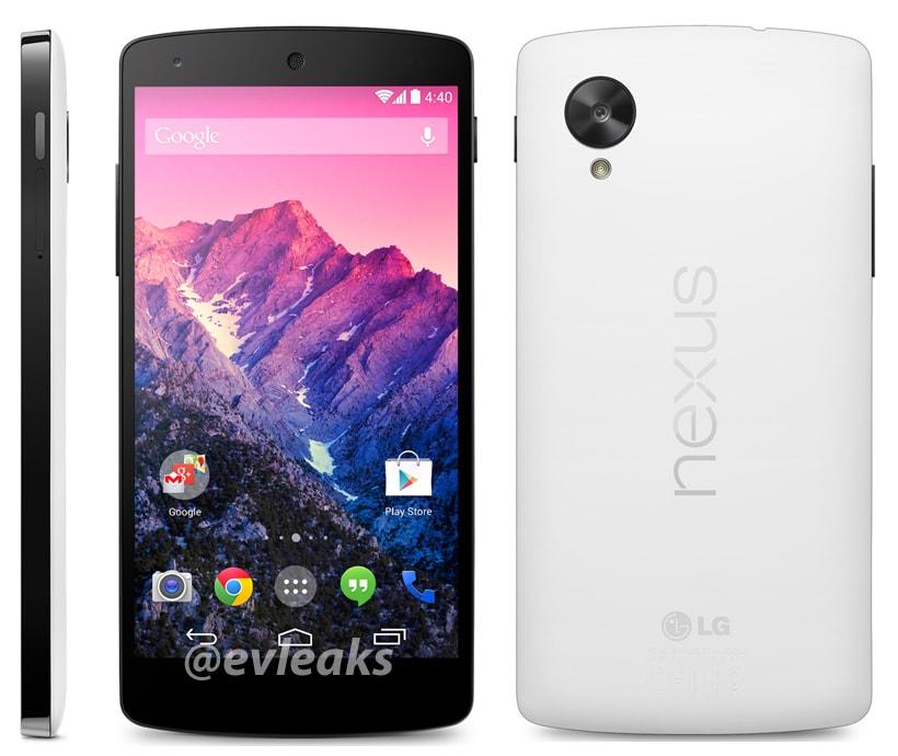 Nexus 5 bianco