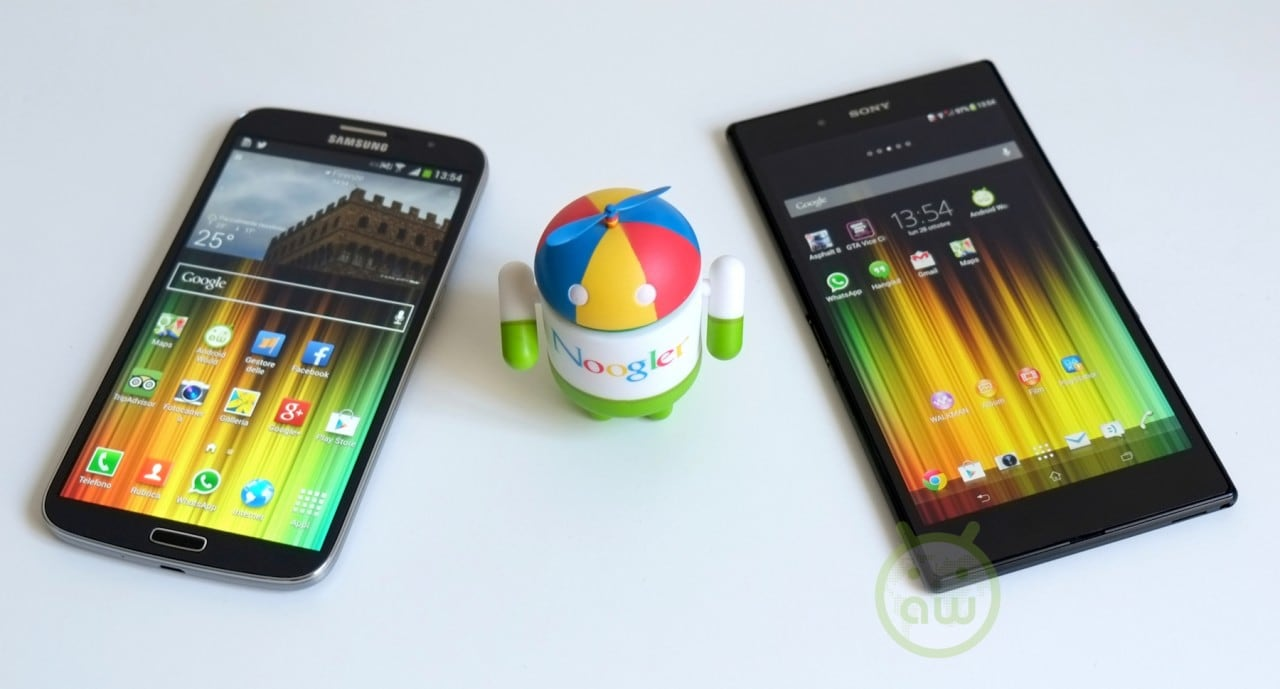 Sony Xperia Z Ultra vs Samsung Galaxy Mega