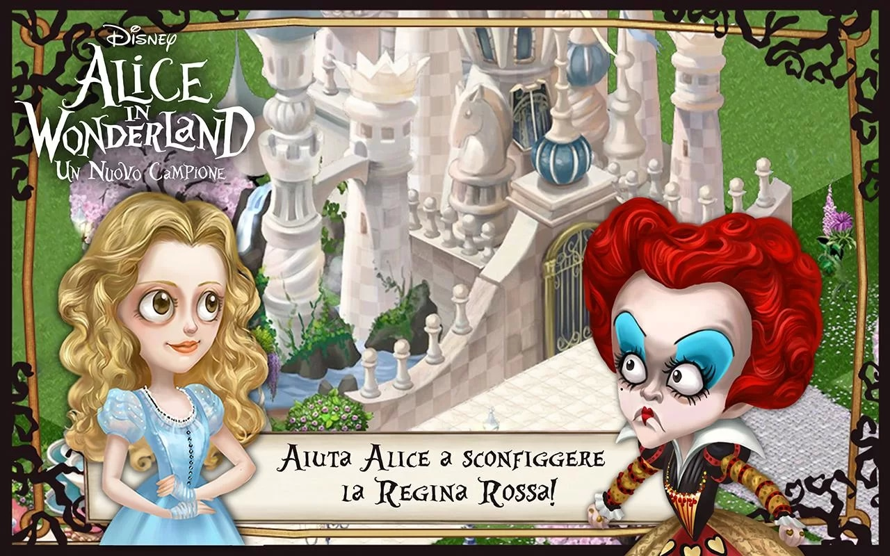 alice in wonderland  header