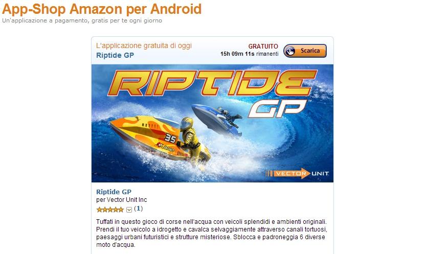 amazon app shop riptide gp