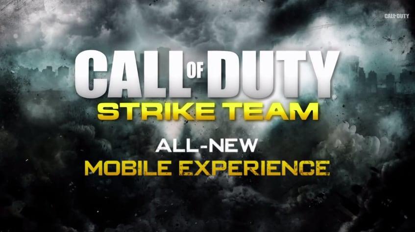 call of duty strike team header