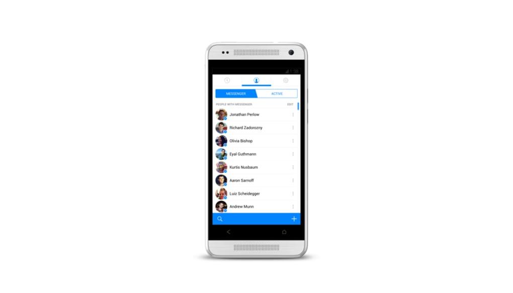 facebook messenger - contacts