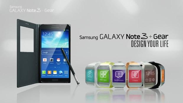 galaxy note 3 e gear