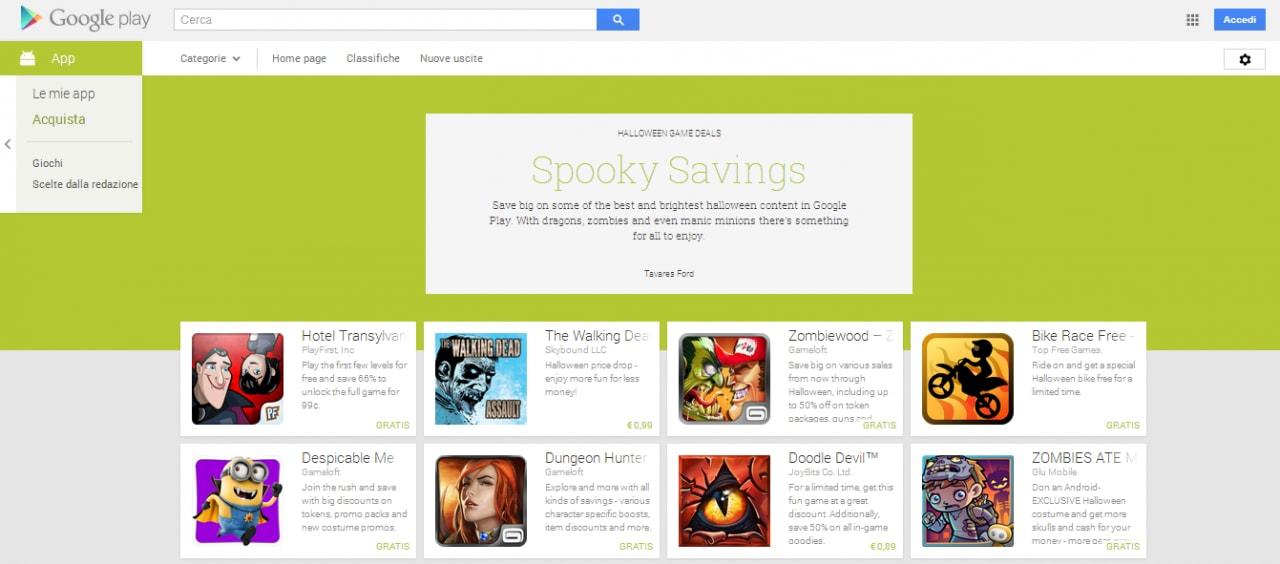 google play halloween