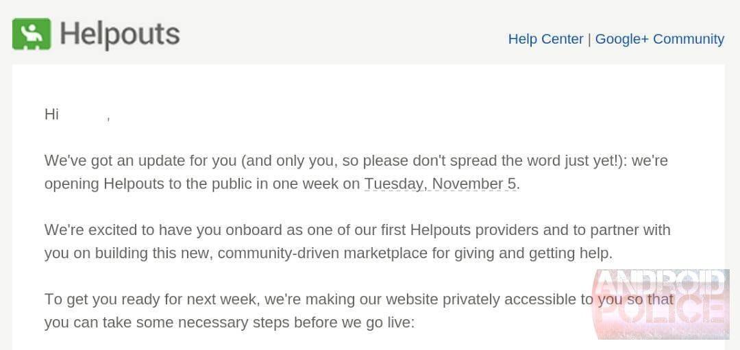 helpouts