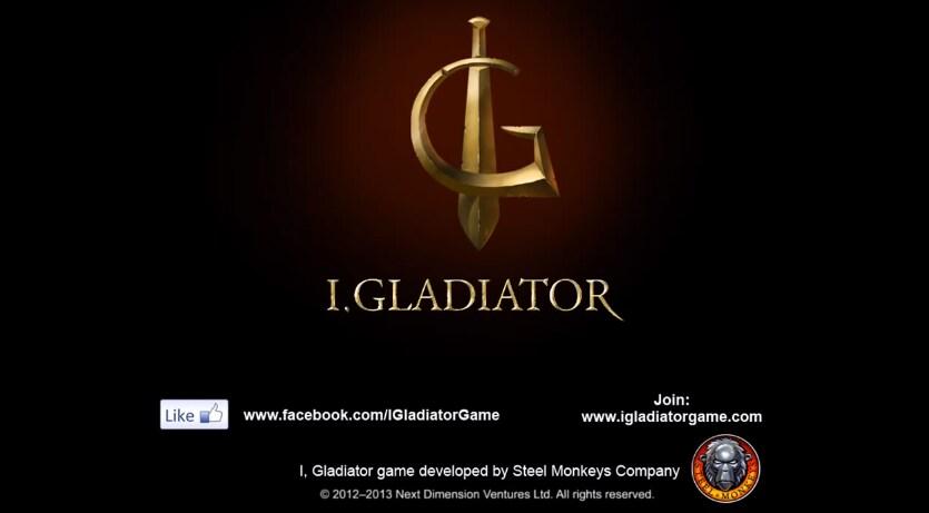 i, gladiator header