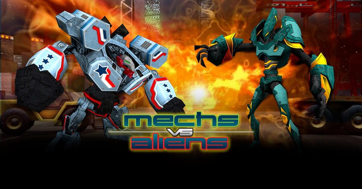 mechs vs aliens