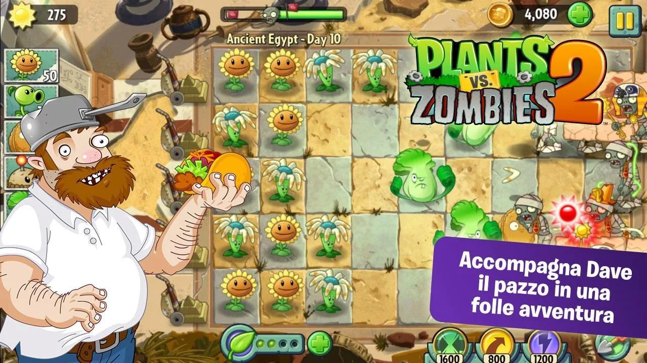 plants vs zombies 2 header