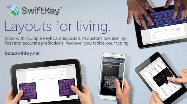 swiftkey beta layout