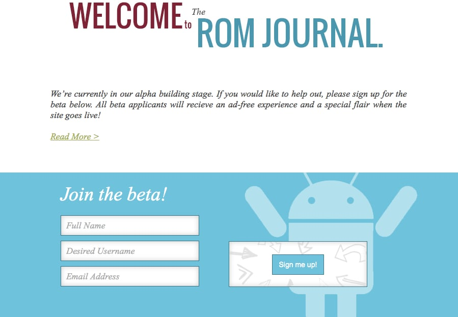 the rom journal