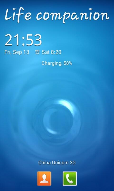 s4 lock screen