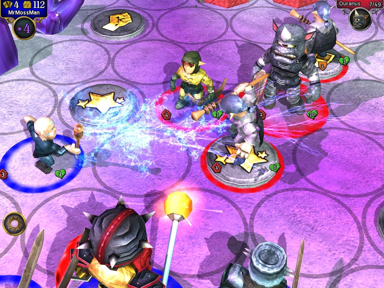 Alcune unità possiedono particolari magie, sia di difesa che di attacco.